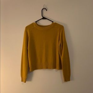 H&M Divided Mustard Yellow Sweater